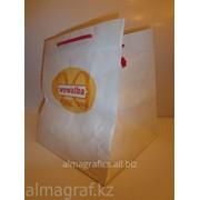Пакет Алма Графикс из Белой бумаги фото
