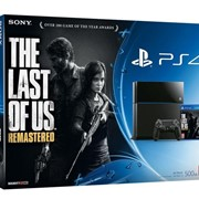 Sony PlayStation 4 (PS4) + The Last of Us фото