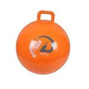 Мяч-Попрыгун GB45 с ручкой (45см, оранжевый) фото