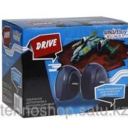 Мультимедийные стерео колонки SmartBuy® Drive, мощность 5Вт, USB, черные SBA-2700/40 фото