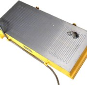 Плита  электромагнитная 125х250 (7208-0052) фото