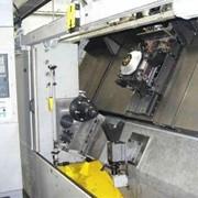 Станок токарный для обработки оси вагонной фото