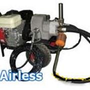 Окрасочное оборудование - покрасочный агрегат АВД 7000 (бензопривод) фото