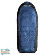 Спальный мешок Caribee Tundra Jumbo / -10°C Steel Blue (Right) фото