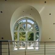 Арочные окна REHAU с армированием фото