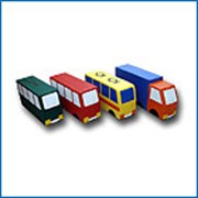 Мягкие игровые модули - Машина Транспорт фото