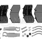 Колодки тормозные дисковые 210,5х108,2х30 SAF Templin фото