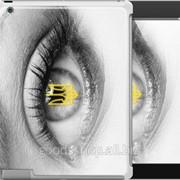 Чехол на iPad 2/3/4 Глаз 877c-25 фото