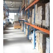 Хранение и обработка груза на таможенном складе. фото