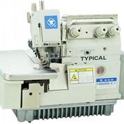 Промышленные оверлоки Промышленный 1-игольный 3-х ниточный оверлок TYPICAL GN2000-3 фото