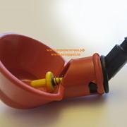 Поилка микрочашечная со штуцером под трубку 6 мм без шарика фото