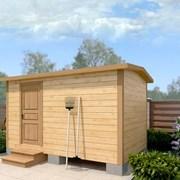Мобильная баня 4х2.3 м фото