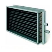 Воздухонагреватель медно-алюминиевый водяной фото