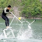 Акваскиппер, водный велосипед, скутер. фото