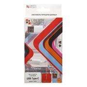 USB кабель «LP» USB Type-C 1 метр (белый/коробка) фото