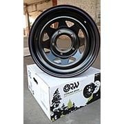 ORW ORW диск стальной 5x139.7 УАЗ 7х15 ET 0, d 110 черный фото