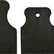 Набор шпателей Matrix 40-60-80 мм черная резина 3 штуки фото
