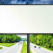 Порошковая покраска рекламных щитов фото
