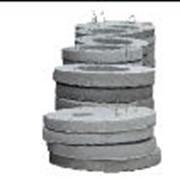 Плита круглая для перекрытий Ǿ 1,1 м КЦП-10 фото
