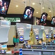 Реклама в супермаркетах, торговых центрах, МакДональдс фото