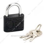 Замок навесной Ермак черный 50 (3кл ) (кратно упаковке 6 шт) №327110 фото