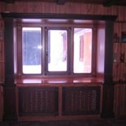 Окна деревянные, Павлодар окна из дерева фото