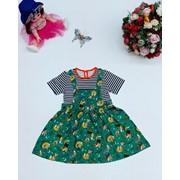 Платье детское - хлопчатобумажный. фото
