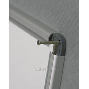 Доска маркерная магнитная в алюм.раме X7 150*100см 2x3 (Польша) TSX71510 фото