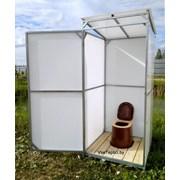 Туалет дачный Престиж Люкс Полный комплект, надежный ваприант для дачи. Арт №1-124 фото