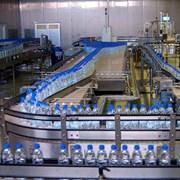 Линия розлива воды в ПЭТ тару до 2000 б/ч фото
