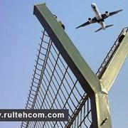 Ограждения аэропортов, спорт площадок. Заборы. Сетка. Plasa. Gard фото