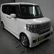 Микровэн турбо HONDA N BOX PLUS кузов JF1 класса минивэн модификация Custom 2013 пробег 117 т.км белый жемчуг фото
