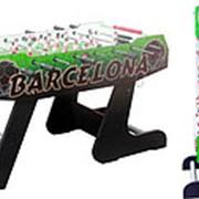 Складной настольный футбол (кикер) Barcelona (138x72x86см, цветной) фото