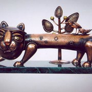 Скульптуры от художник-скульптора из династии Дидковских, скульптура Прогулка фото