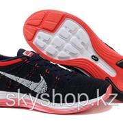 Кроссовки Nike Flyknit Lunar1+ Dark Blue-Red 40-44 Код Lunar04 фото