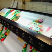 Печать на баннере фото