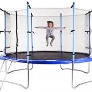 Батут 366 см Hop Sport с внутрен сеткой + лестница фото