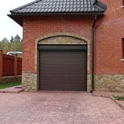 Ворота роллетные фото