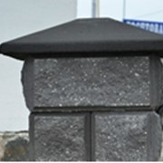 Крышка столбовая Восточная цветная 550*550 фото