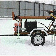 Буровая установка на прицепе G X1 эконом фото