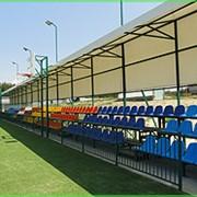 Сидения для стадионов и спортзалов пластиковые фото