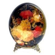 Яйца страусиные декоративные фото