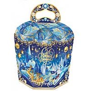 """Коробка для конфет новогодняя Fiesta """"Зимний вечер"""" 800 гр., 15010468 фото"""