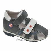 Туфли открытые для мальчика арт.14120 фото