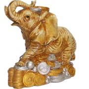 Слон на золоте фото