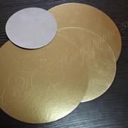 Подложка картонная круглая фото