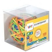 Резинки для денег Silwerhof ШАР, 105 гр, цветные фото