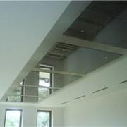 Подвесные стеклянные потолки фото