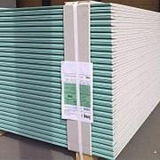 Гипсокартонный лист КНАУФ влагостойкий (ГСПВ) ПЛУК 2500х1200х12,5 мм фото