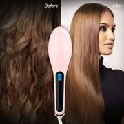 Расческа-утюжок Fast Hair Straightener фото